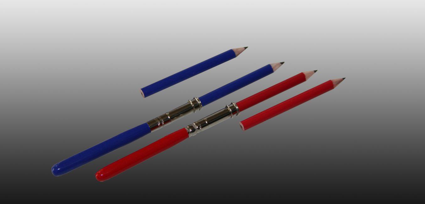 Stiftverlaengerer rot blau