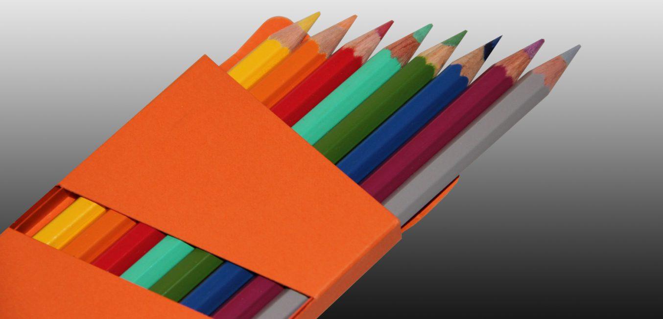 Verpackung 8 Stifte_ Schiebeschachtel